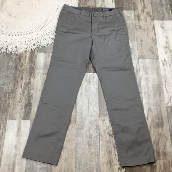 Bonobos Other - Bonobos Friday Gray Slim Fit Pants BK04☮️